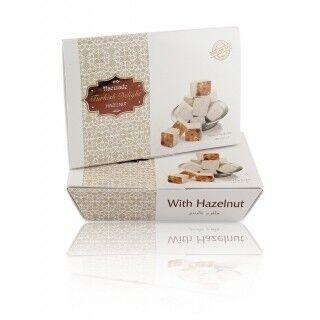 Подарок на Новый год Hacizade Рахат лукум с фундуком, 175 гр - фото 1