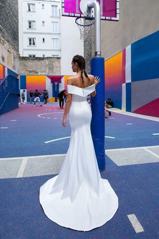 Свадебный салон Crystal Свадебное платье Wildin - фото 3