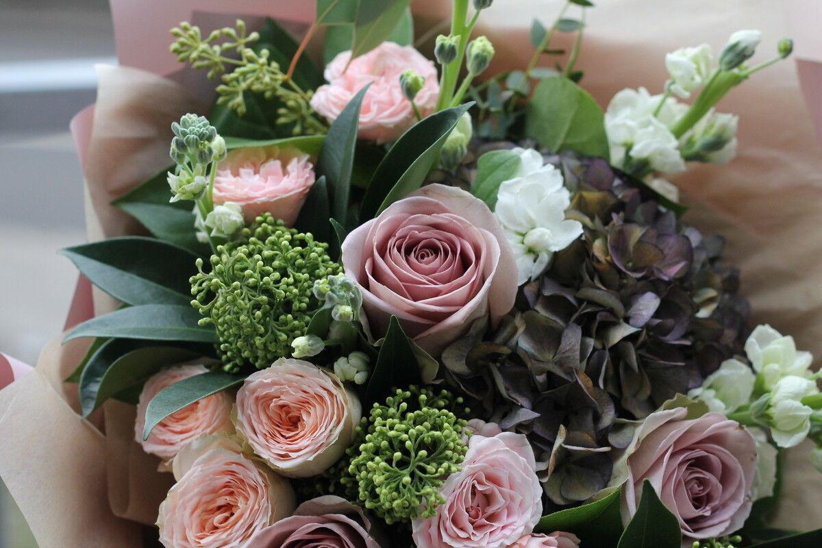 Магазин цветов Cvetok.by Букет «Пастель» - фото 3