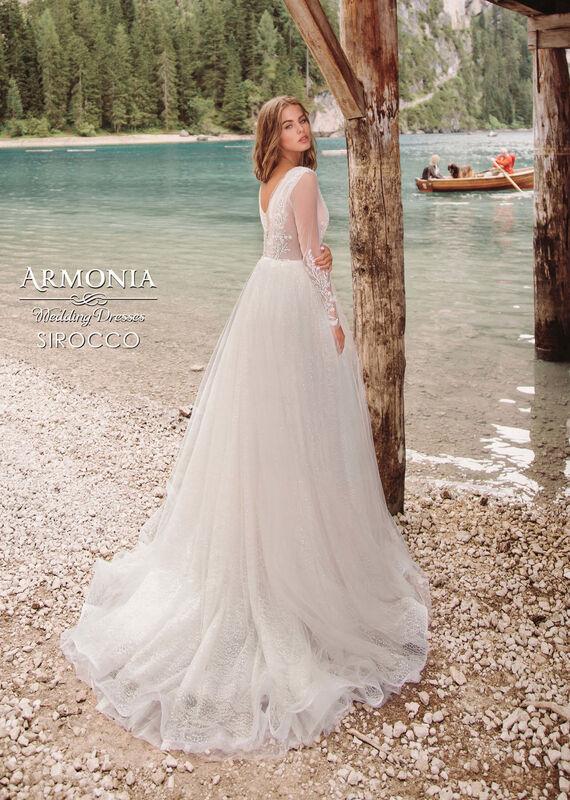 Свадебный салон Armonia Свадебное платье Sirocco - фото 3