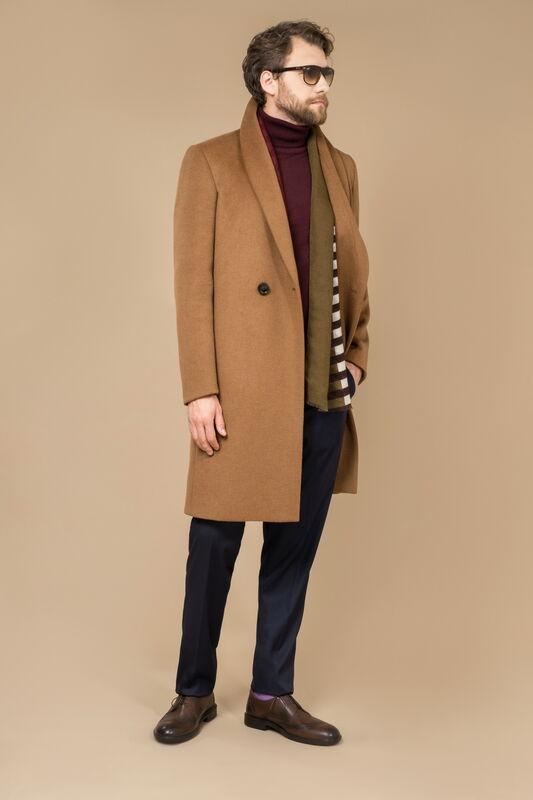 Верхняя одежда мужская Etelier Пальто мужское демисезонное 1М-8493-1 - фото 1