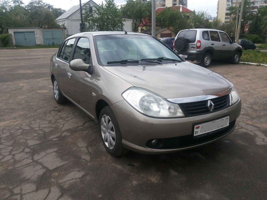 Прокат авто Renault Symbol - фото 1