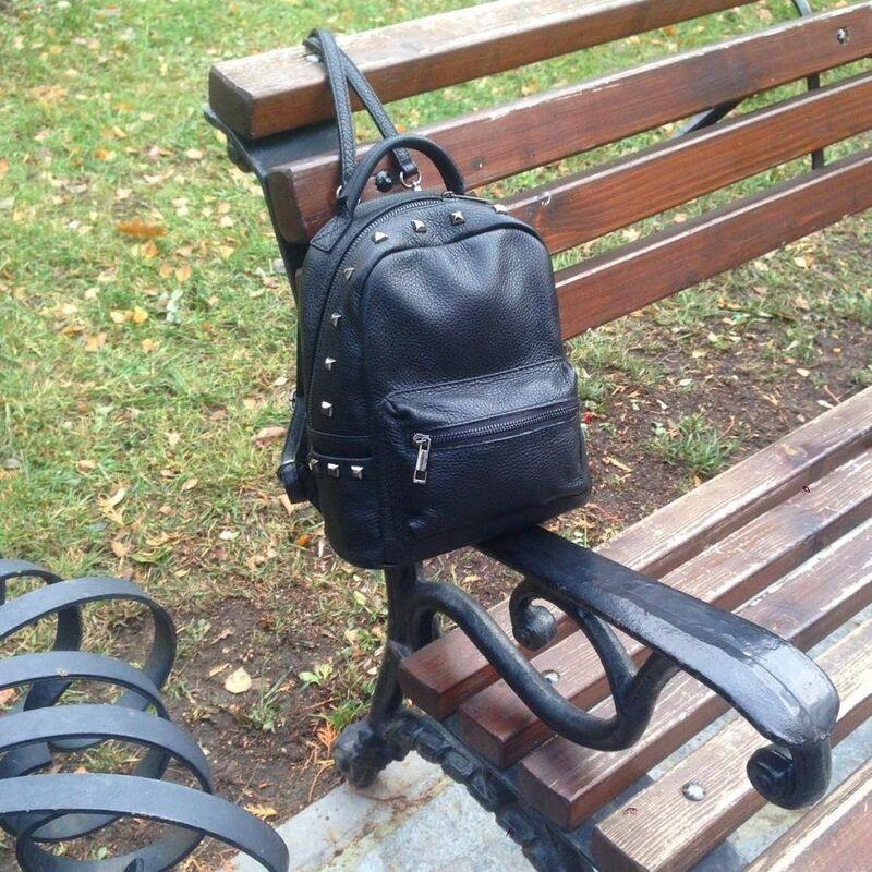 66b658e7eab2 Купить Кожаный рюкзак С00146 Vezze в Минске – цены продавцов