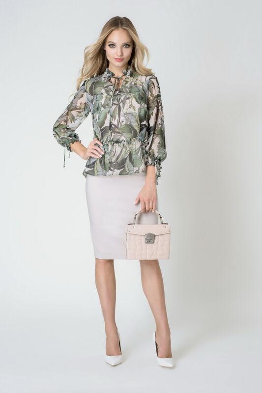 Кофта, блузка, футболка женская Elema Блузка женская 2К-8484-1 - фото 1