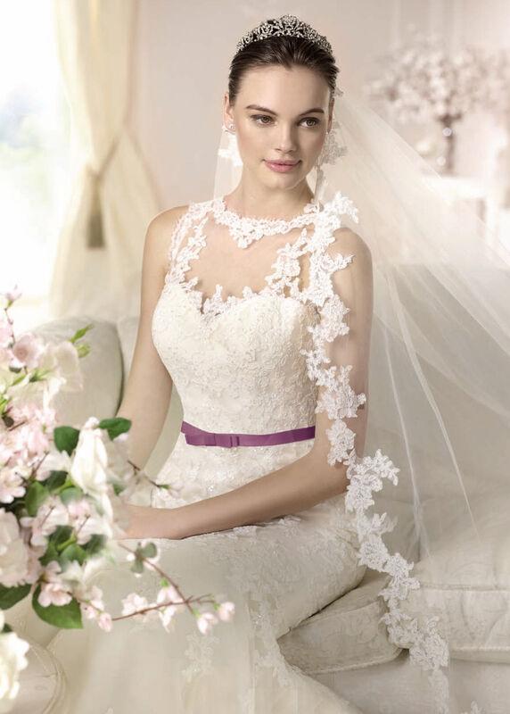 Свадебное платье напрокат White One (Pronovias) Платье свадебное «Damara» - фото 3