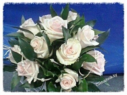 Магазин цветов Цветочник Букет невесты из роз - фото 1