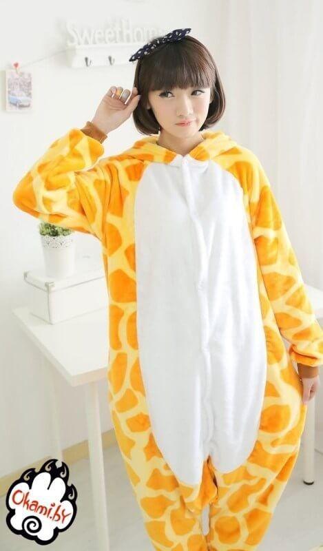 Подарок Taicang Soft Пижама кигуруми «Жираф» - фото 2