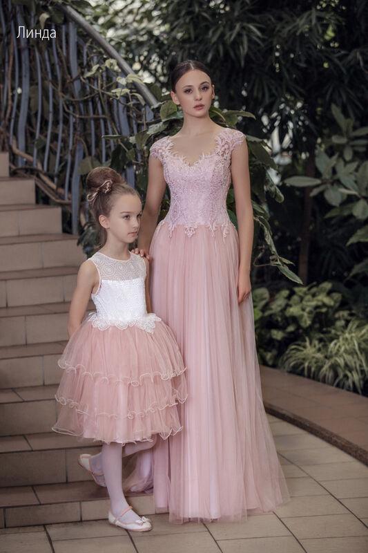Свадебное платье напрокат Vintage Платье свадебное «Линда» - фото 1