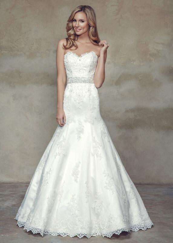 Свадебное платье напрокат Mia Solano Платье свадебное «Bethany» - фото 1