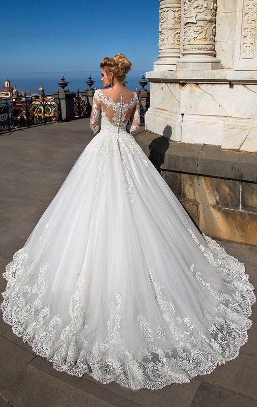 Свадебный салон NaviBlue Свадебное платье Lissa 17004 - фото 4