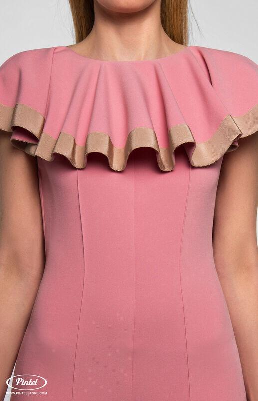 Брюки женские Pintel™ Приталенный розовый макси-комбинезон Linnea - фото 6