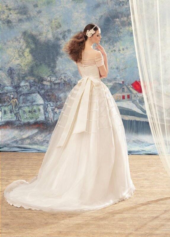 Свадебный салон Papilio Свадебное платье «Дакнис» 1722L - фото 2