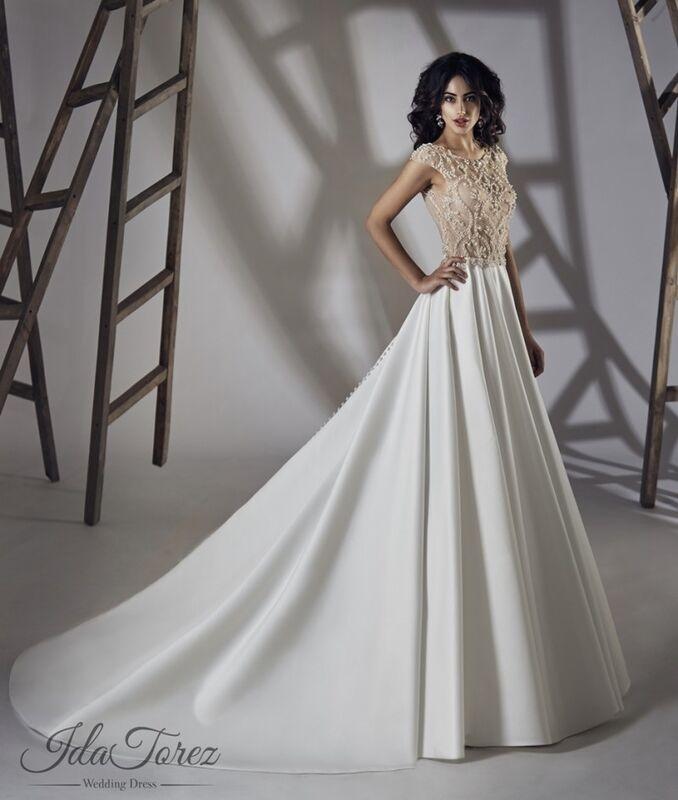 Свадебное платье напрокат Ida Torez Свадебное платье Torsa - фото 1