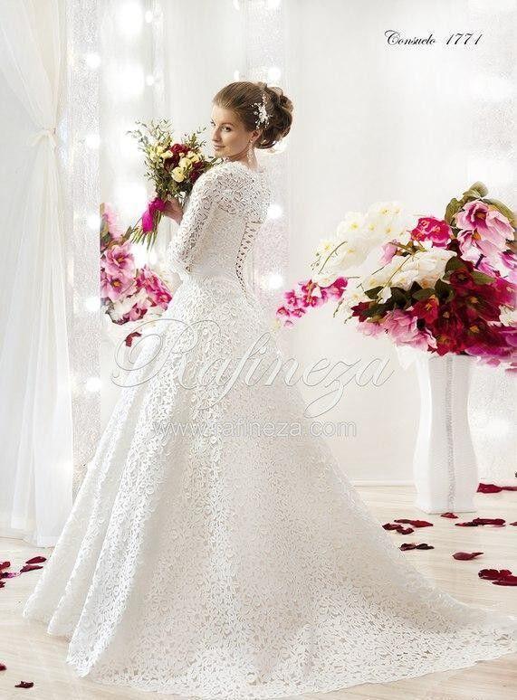 Свадебное платье напрокат Rafineza Свадебное платье Consuelo - фото 1