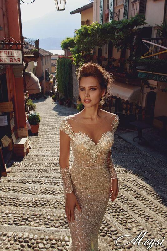 Свадебный салон Bonjour Galerie Свадебное платье Meysi из коллекции Royal Luxury - фото 2