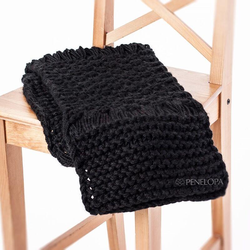 Шарф и платок PENELOPA Черный снуд M53 - фото 1