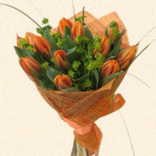Магазин цветов Планета цветов Букет из тюльпанов №9 - фото 1