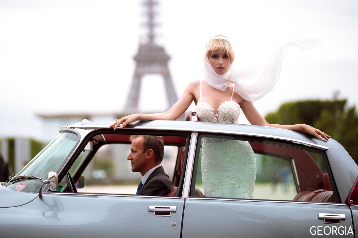Свадебный салон Bonjour Galerie Платье свадебное GEORGIA из коллекции BON VOYAGE - фото 1