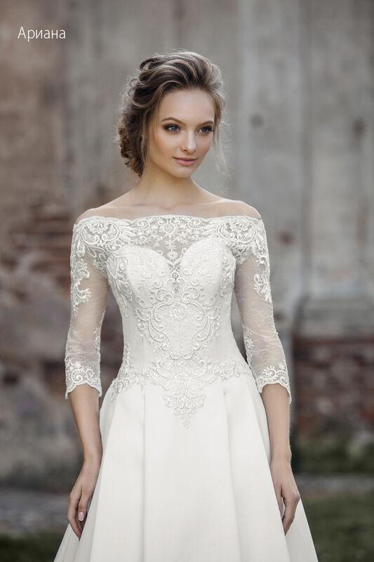 Свадебное платье напрокат Vintage Платье свадебное «Арианна» - фото 2