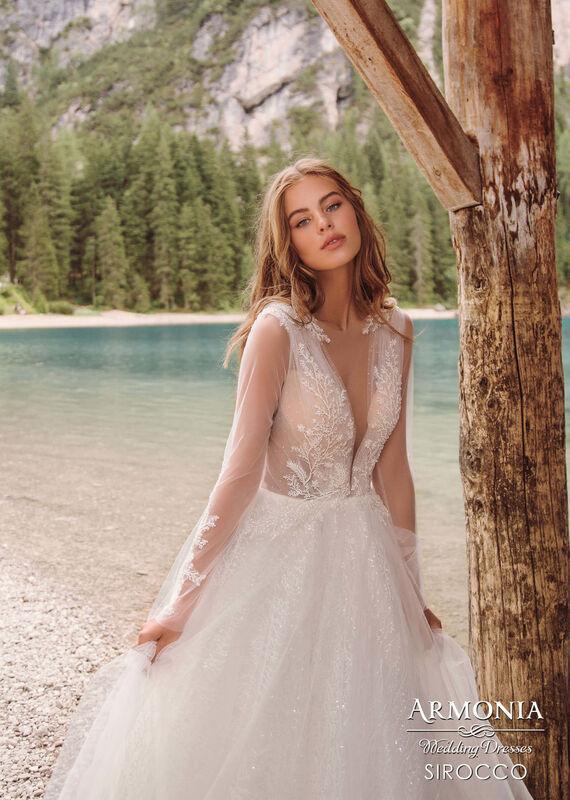 Свадебный салон Armonia Свадебное платье Sirocco - фото 2