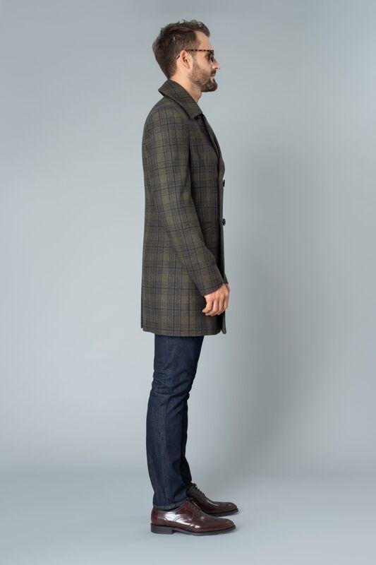 Верхняя одежда мужская Etelier Пальто мужское демисезонное 1М-9411-1 - фото 2
