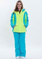 Верхняя одежда женская Free Flight Женская зимняя спортивная куртка модель №1426 - фото 6