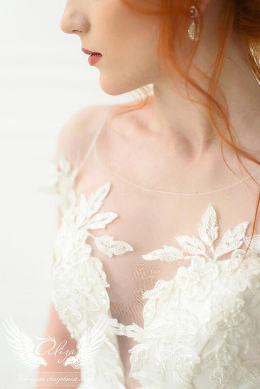 Свадебное платье напрокат ALIZA Платье свадебное «Leila» Ameli Benya - фото 6