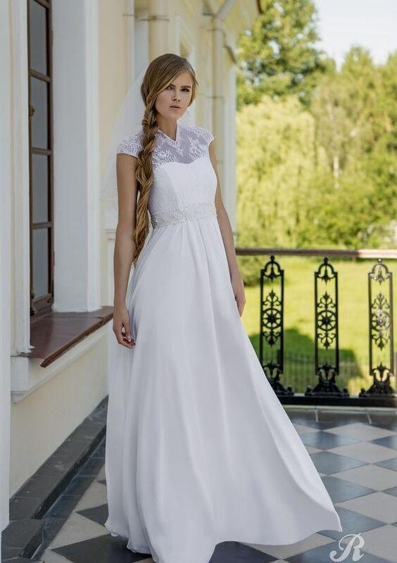 Свадебное платье напрокат Robe Blanche Свадебное платье Teresa - фото 1