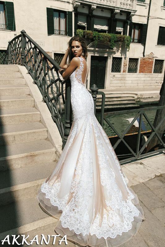 Свадебное платье напрокат Bonjour Galerie Платье свадебное Akkanta из коллекции La Douceur - фото 2