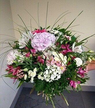 Магазин цветов Цветочник Букет с гортензией - фото 1