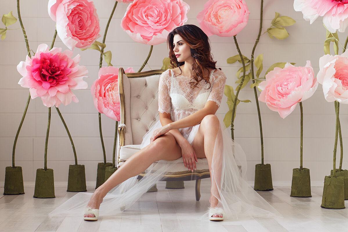 Свадебный аксессуар ALIZA Пеньюар Alvena - фото 2