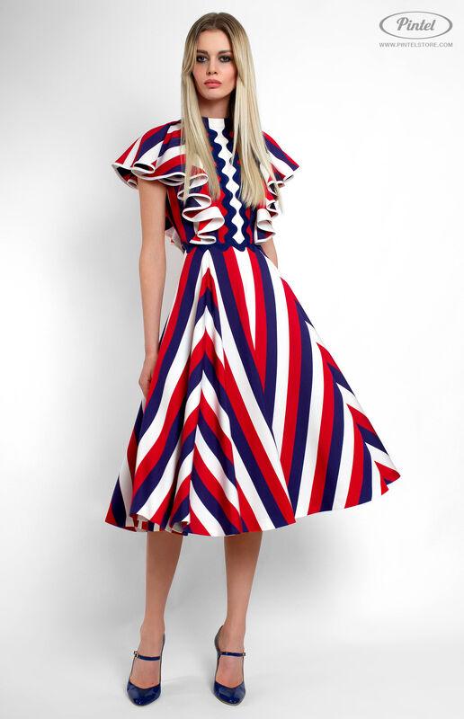 Платье женское Pintel™ Приталенное платье Micheline - фото 3