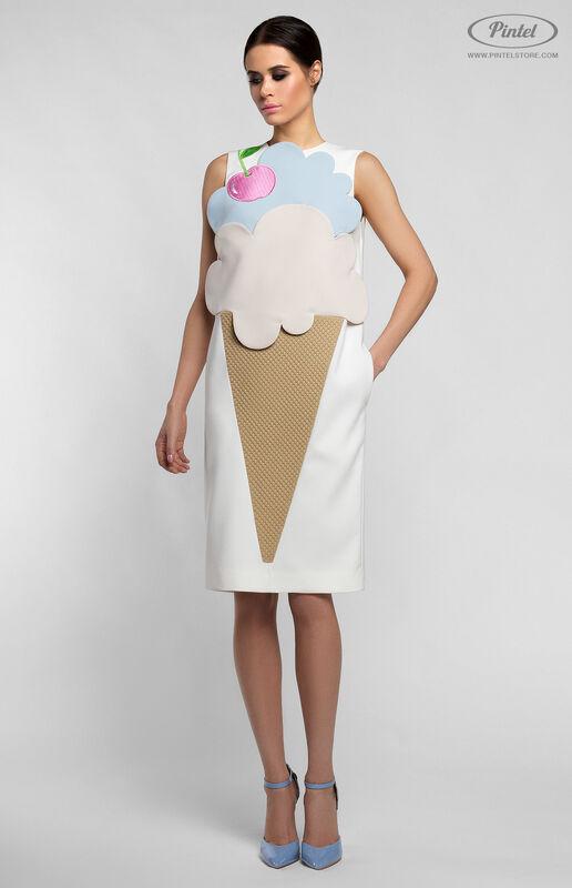 Платье женское Pintel™ Комбинированное платье Rikke - фото 2