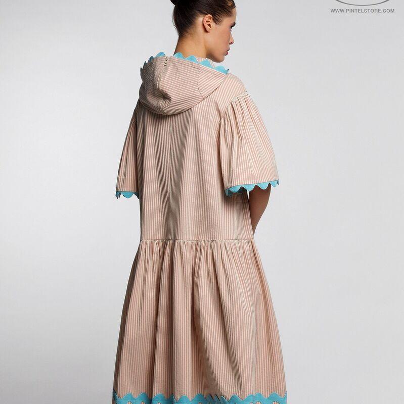 Платье женское Pintel™ Спортивное миди-платье свободного силуэта Yamichi - фото 1