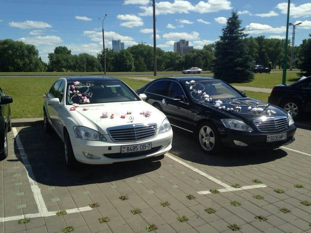 Аренда авто Mercedes-Benz W221 Long белый - фото 2