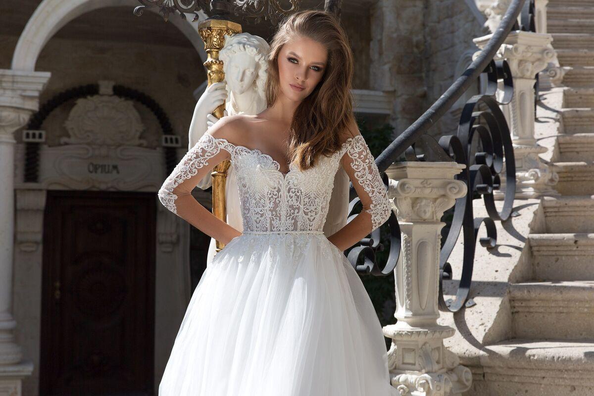 Свадебное платье напрокат Eva Lendel Jenna - фото 3