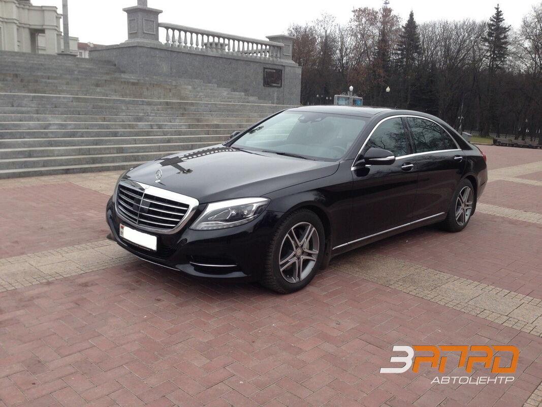 Аренда авто Mercedes-Benz W222 Лонг Черный - фото 1