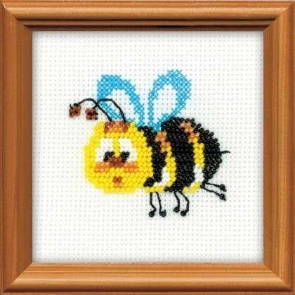 Товар для рукоделия Риолис Набор для вышивания «Пчелка» - фото 1