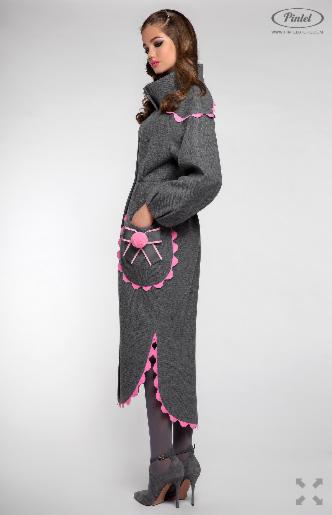 Верхняя одежда женская Pintel™ Пальто Mazaä - фото 4