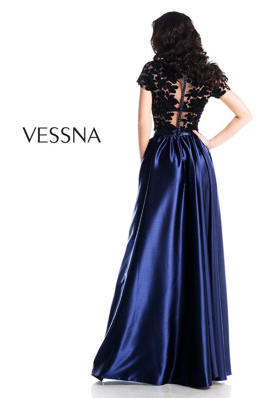 Вечернее платье Vessna Топ и Юбка длинная арт.1269 из коллекции VESSNA NEW - фото 2