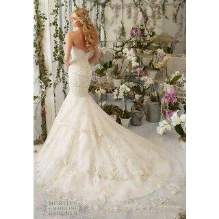 Свадебное платье напрокат Mori Lee Платье свадебное 2801 - фото 2