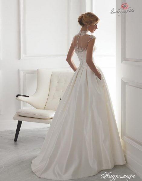 Свадебное платье напрокат Lady White Платье свадебное «Андромеда» - фото 2