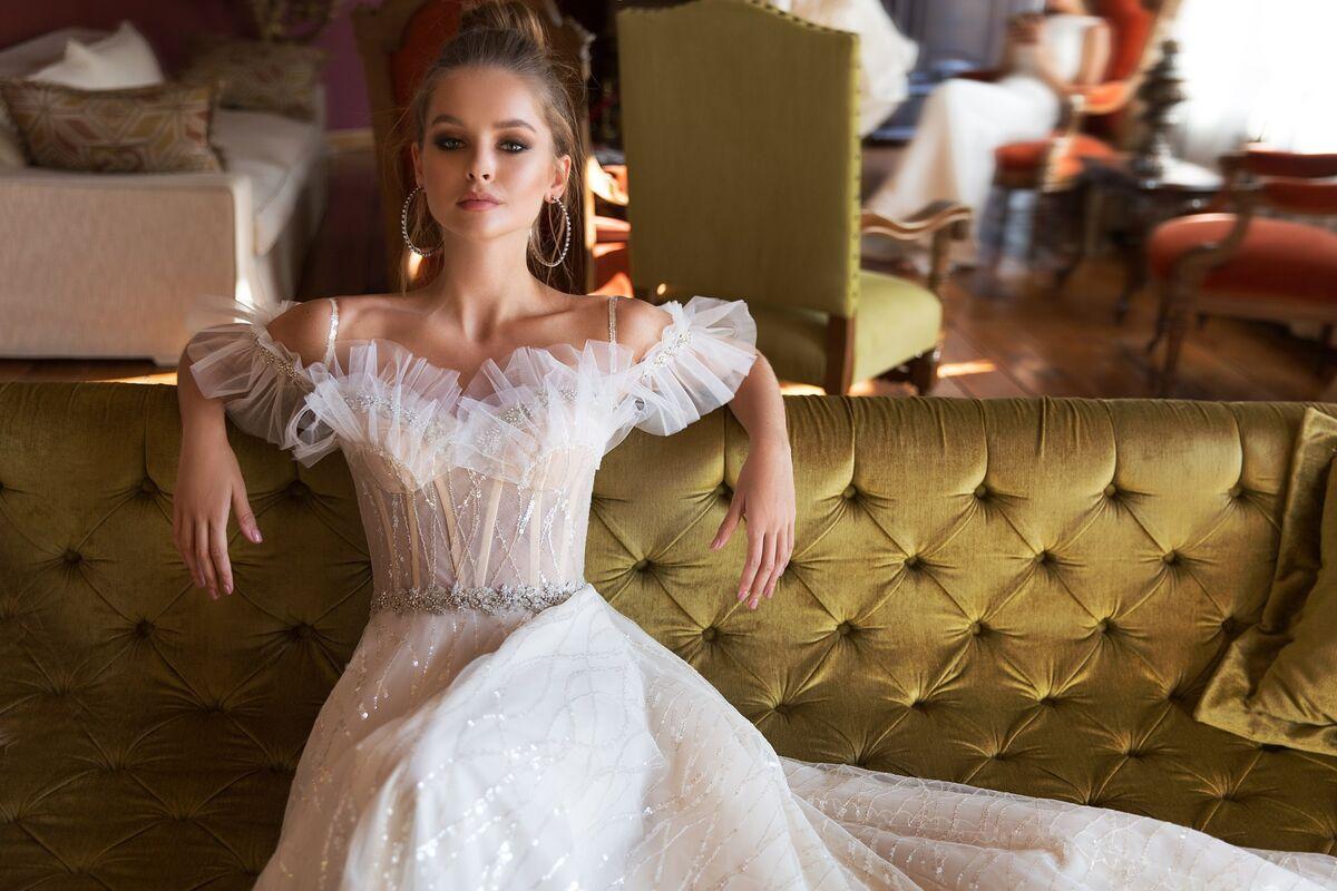 Свадебный салон Eva Lendel Свадебное платье Teona - фото 2