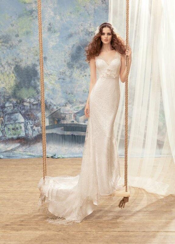 Свадебный салон Papilio Свадебное платье «Тезия» 1730L - фото 1