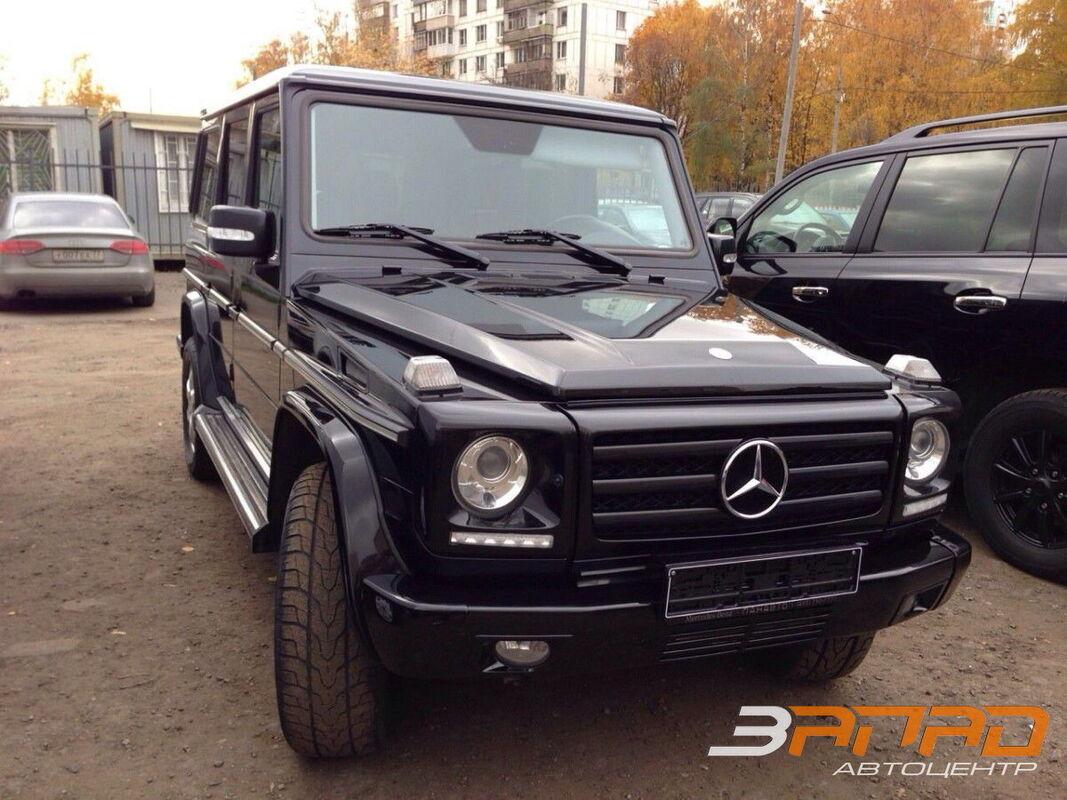 Аренда авто Mercedes-Benz Гелендваген G-класс черный - фото 1