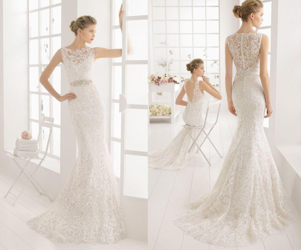 Свадебное платье напрокат Rosa Clara Платье свадебное Malone - фото 2