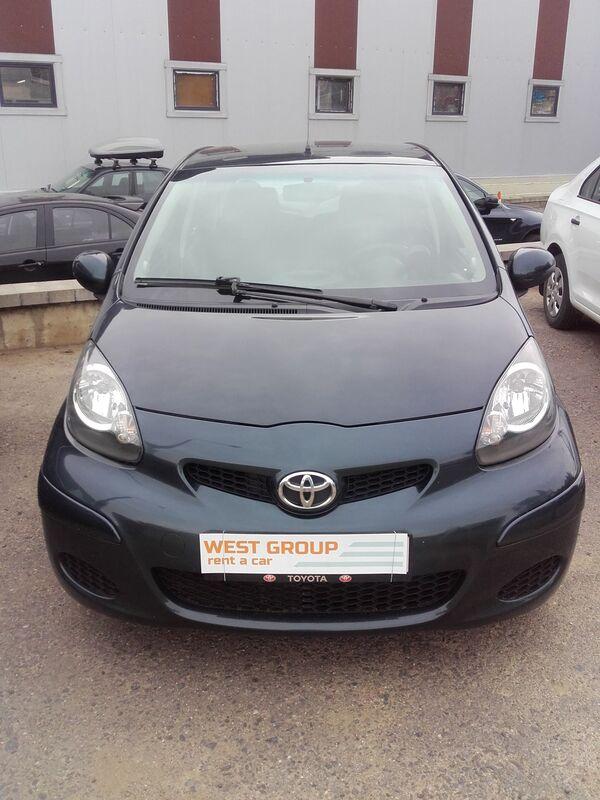 Прокат авто Toyota Aygo 2011 - фото 2