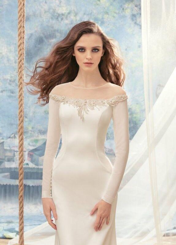 Свадебный салон Papilio Свадебное платье «Альбатрос» 1712L - фото 3