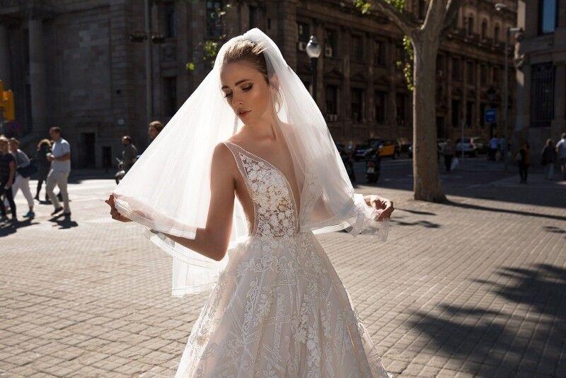 Свадебный салон Ida Torez Свадебное платье Rambla - фото 4