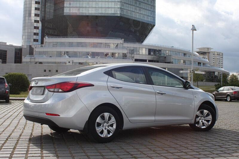 Аренда авто Hyundai Elantra 2014 г.в. - фото 2